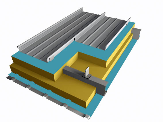 阿勒泰氟碳铝镁锰板,耐腐蚀,抗风挡雪系统,代替彩钢板,适合电厂铝厂的铝镁锰板 电厂铝镁锰板