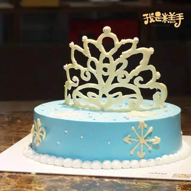 我是糕手公主皇冠蛋糕批发