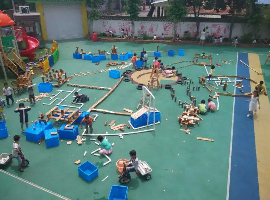 幼儿园户外大型积木玩具报价
