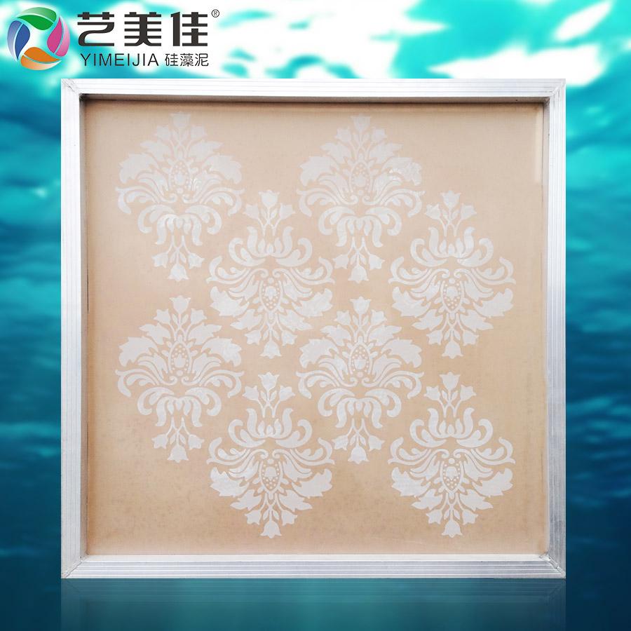 供应硅藻泥欧式印花模具图片