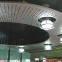 中庭吊顶铝单板定制厂家图片