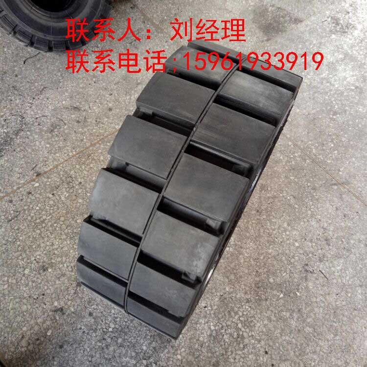 供应平板拖车AnyGo实心轮胎28x10x22sm