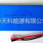 聚合物锂电池384085PL-1图片