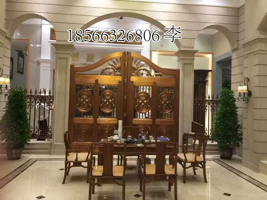 聚福龙铜门、工程铜门、工程铜楼梯/纯铜铜门直销与批发