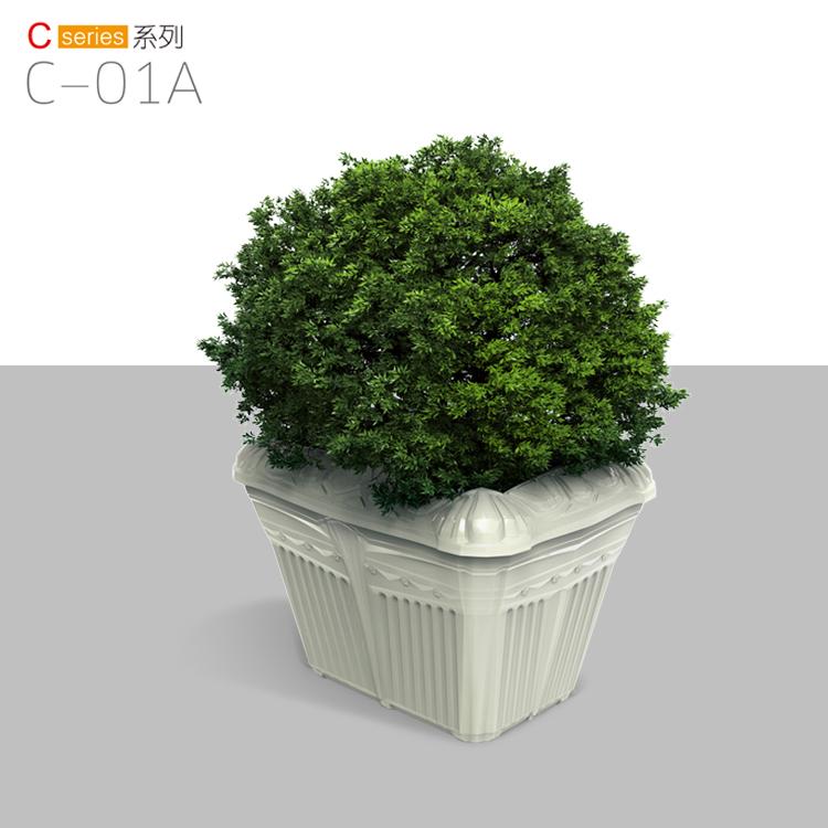 多功能节能环保户外花盆 生产万德福花箱花盆容器
