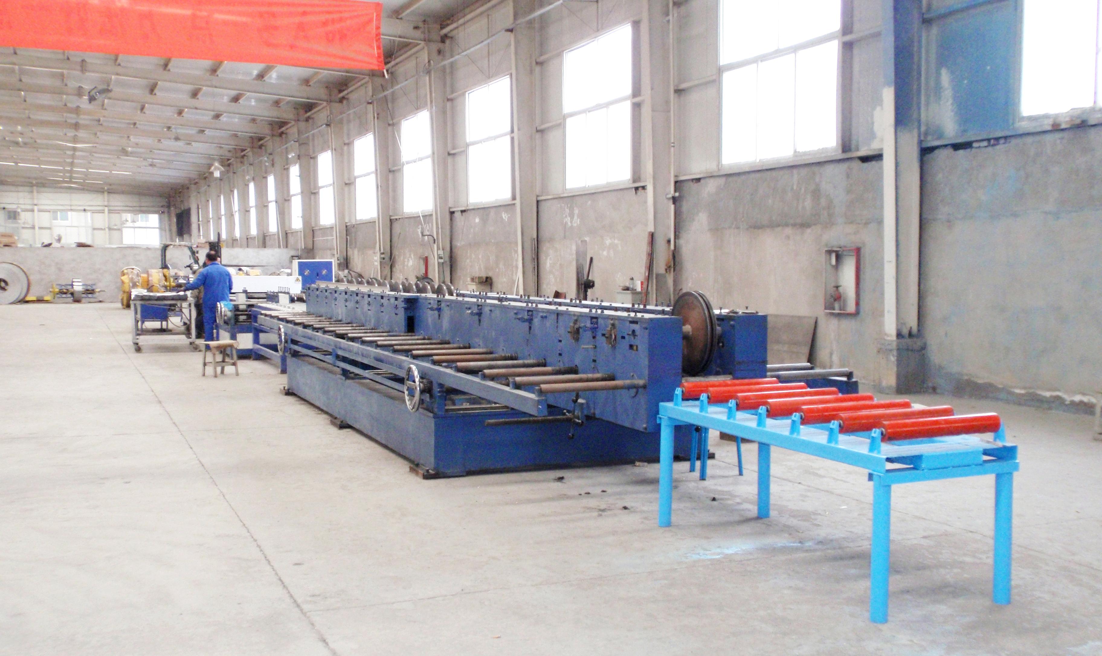 供应电缆桥架生产线 天津科瑞嘉机电技术有限公司开发的经济型电缆桥架生产线