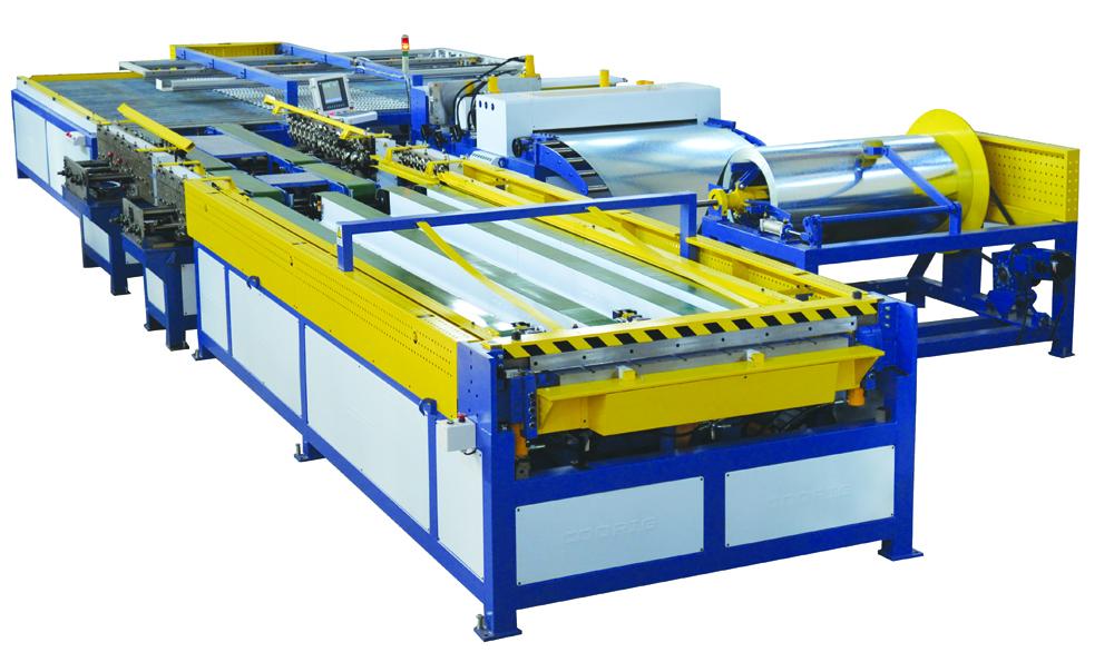 全自动风管生产5线图片/全自动风管生产5线样板图 (4)