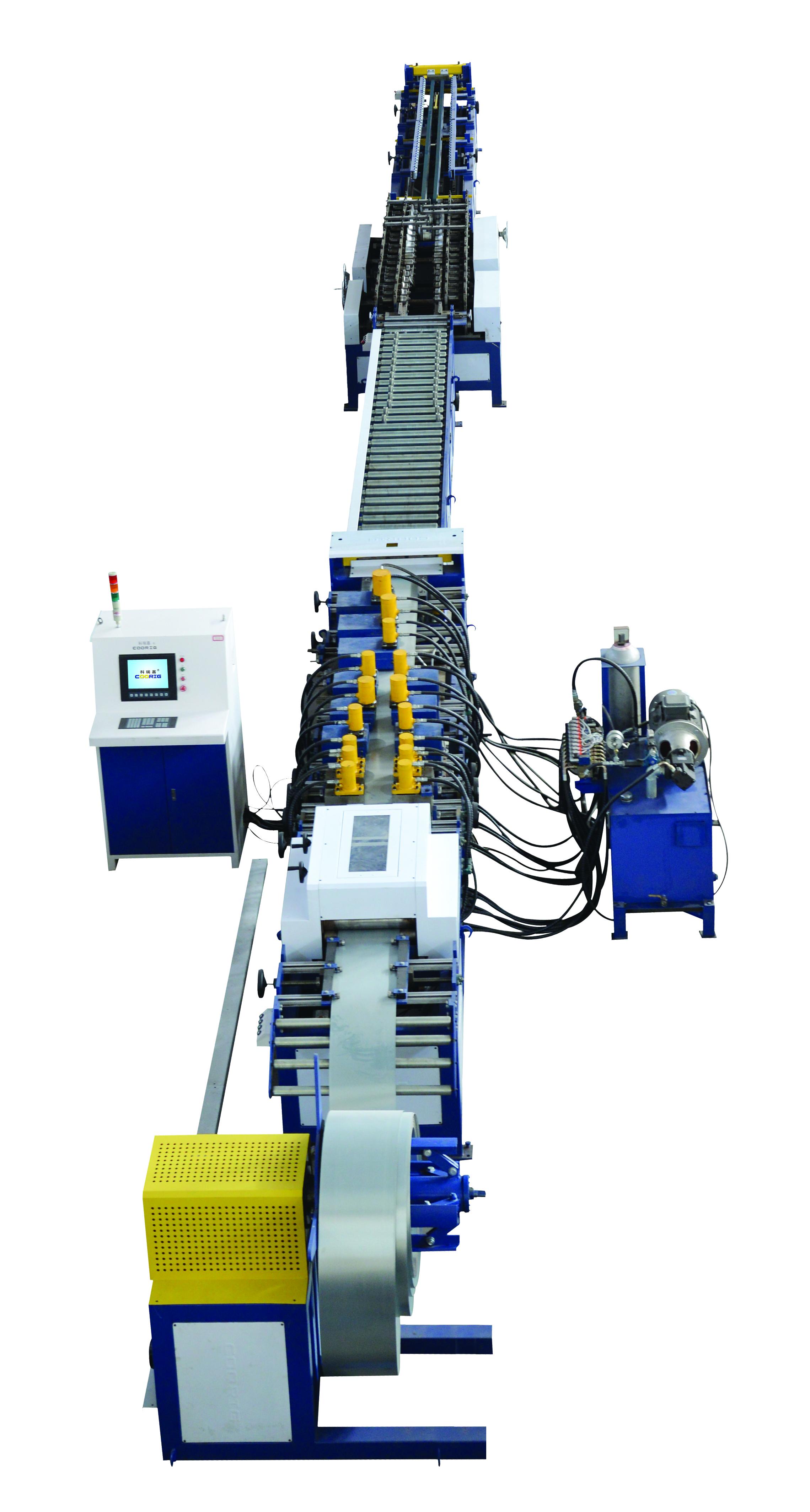 供应全自动风阀叶片生产线 天津科瑞嘉专业制造风阀叶片生产线的厂家