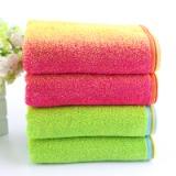 特价批发新款炫丽32股色织纯棉广告礼品毛巾 全棉超吸水运动款创意毛巾