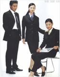 供应定做南昌职业装,西服,修身衬衫
