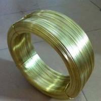 供应用于插头的H65插头扁线批发 黄铜扁线加工