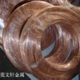 供应用于铆钉|插头|挂具的宁波红铜线厂家 黄铜扁线厂家 磷铜弹簧线加工