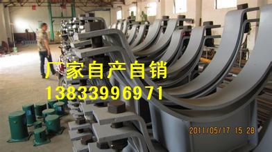 供应用于电力管道的福州单槽钢吊杆座4010301 双右拉杆 焊缝加强板 恒力弹簧专业生产厂家