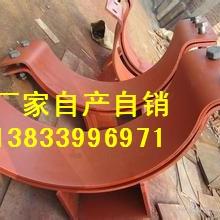 供应用于电厂管道的阳泉立管焊接支座C=596 L=754 A=242 吊环螺母 花兰螺丝 U形管卡报价图片