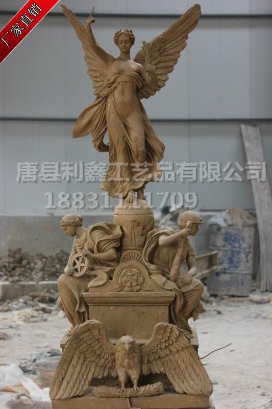 供应广场女神铜雕,2米女神铜雕塑,欧式人物铜雕,小区人物铜雕