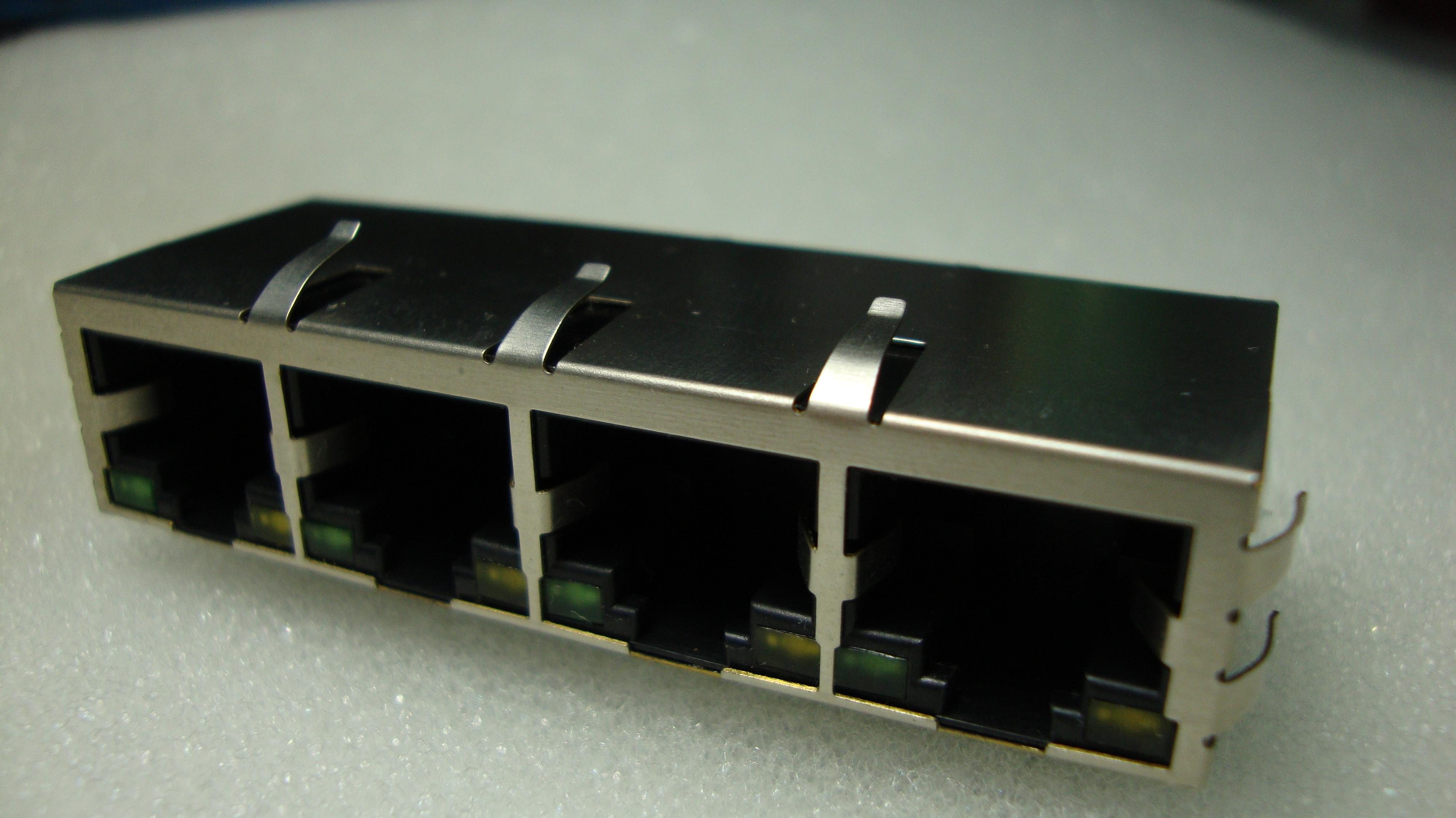 供应rj45网络连接器 网络接口 滤波器 变压器
