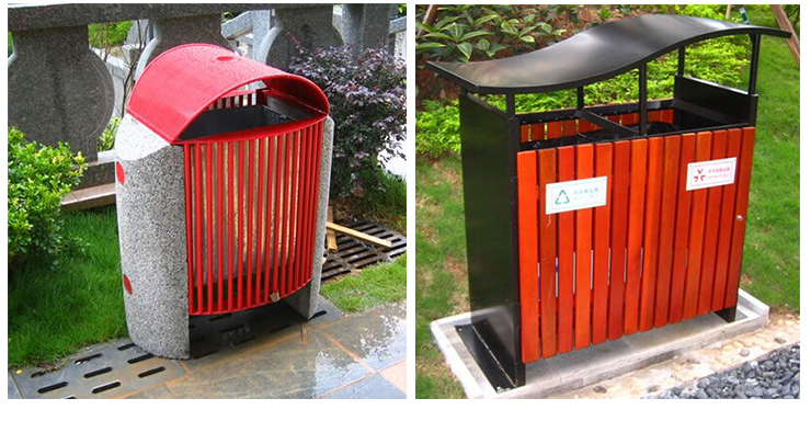 供应户外垃圾桶 环卫垃圾桶 分类果皮箱 室外果壳箱 环保垃圾箱