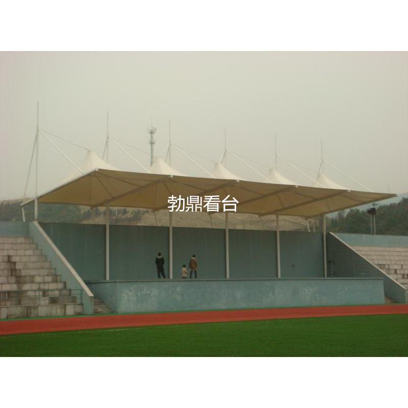 供应学校看台顶棚 表演看台膜结构