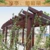 优质凉亭、葡萄架木质材料图片