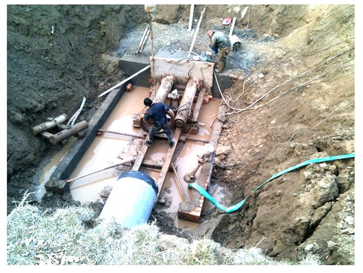 供应浪卡子县顶管施工,低价承接朗卡子县顶管非开挖工程