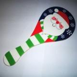 供应木制圣诞礼物 创意球拍+弹力球 儿童益智玩具,科教智力玩具厂家直销