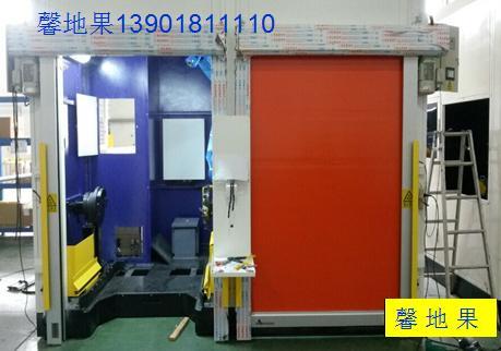 供应用于工厂焊接领域|机器人焊接领|工位站焊接领的馨地果焊接站防护门、焊接防弧光门