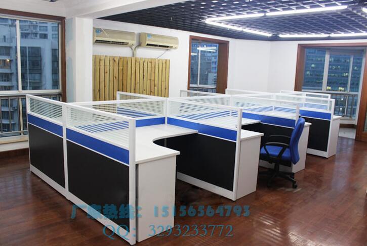 办公屏风桌电销隔断位,个性办公桌图片