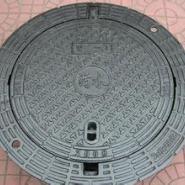 铸铁井盖承重井盖树脂井盖雨篦子图片