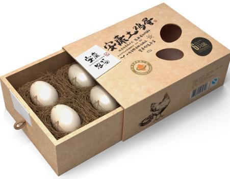 土鸡蛋包装盒设计印刷定做图片|土鸡蛋包装盒设计