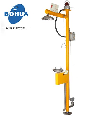 供应电伴热洗眼器、上海博化安防设备,复合式/壁挂式洗眼