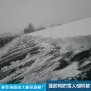 蓬胶棉防雪大棚棉被图片