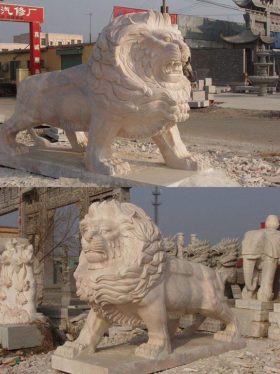 供应石雕汇丰银行狮港狮皇家京狮镇府狮茅台狮广交会狮