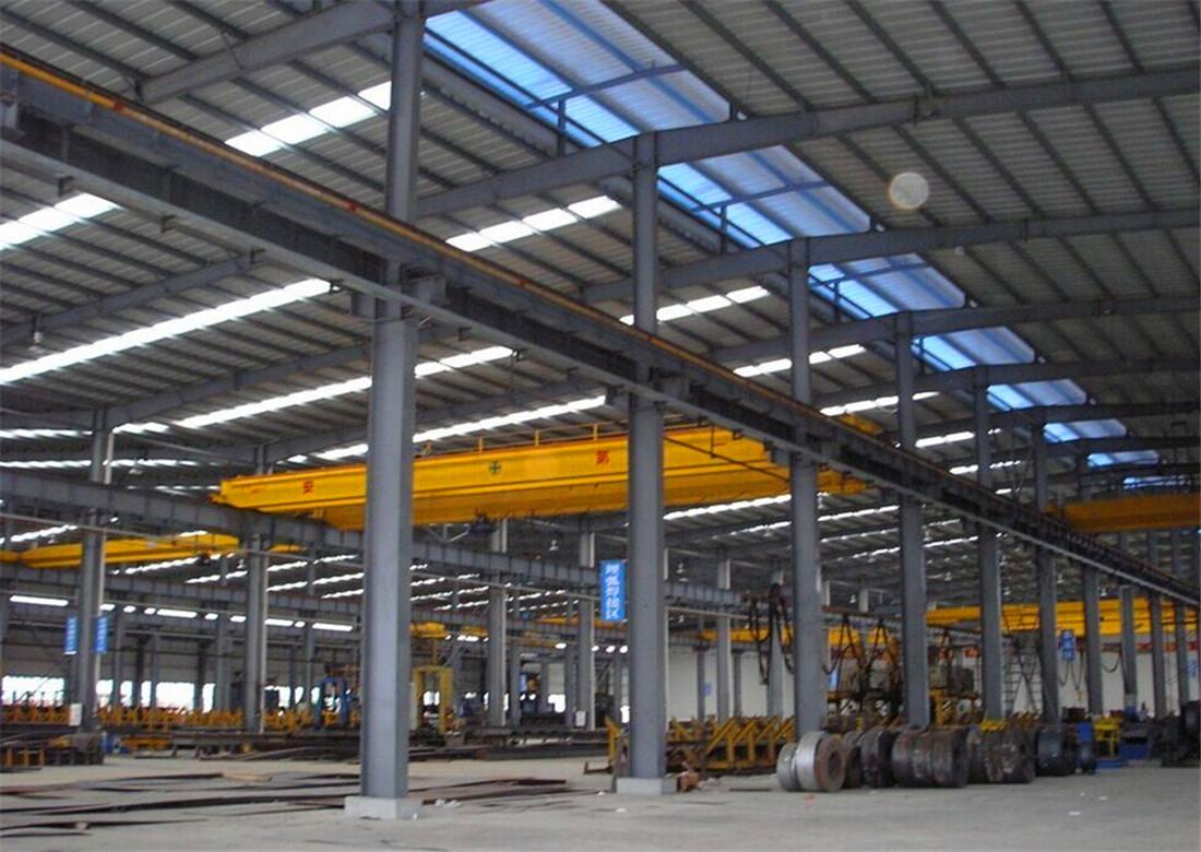 南昌厂房钢结构施工报价