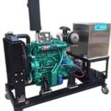 供应大型高压水清洗机柴油固定式大型高压水疏通机