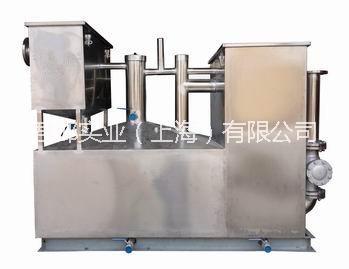 餐饮隔油提升一体化设备,一体化油水分离设备,餐饮油脂分离器