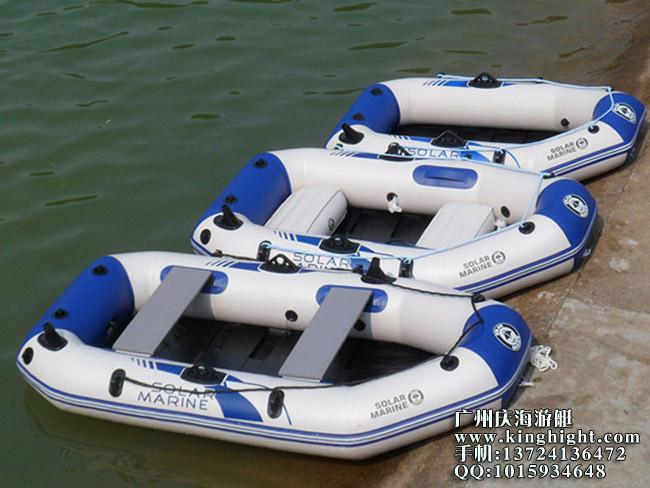 2人木板底橡皮艇,充气钓鱼船,硬底橡皮船,条板夹网充气船