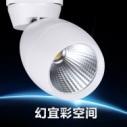 led 射灯 COB轨道灯图片
