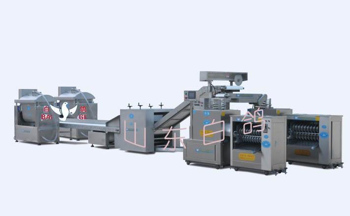 供应河北白鸽全自动馒头机生产线全自动和面机