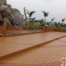 供应用于园林景观的木塑地板护栏凉亭、栈道、台阶踏板广场平台铺装、小区景观道路等。木塑材料