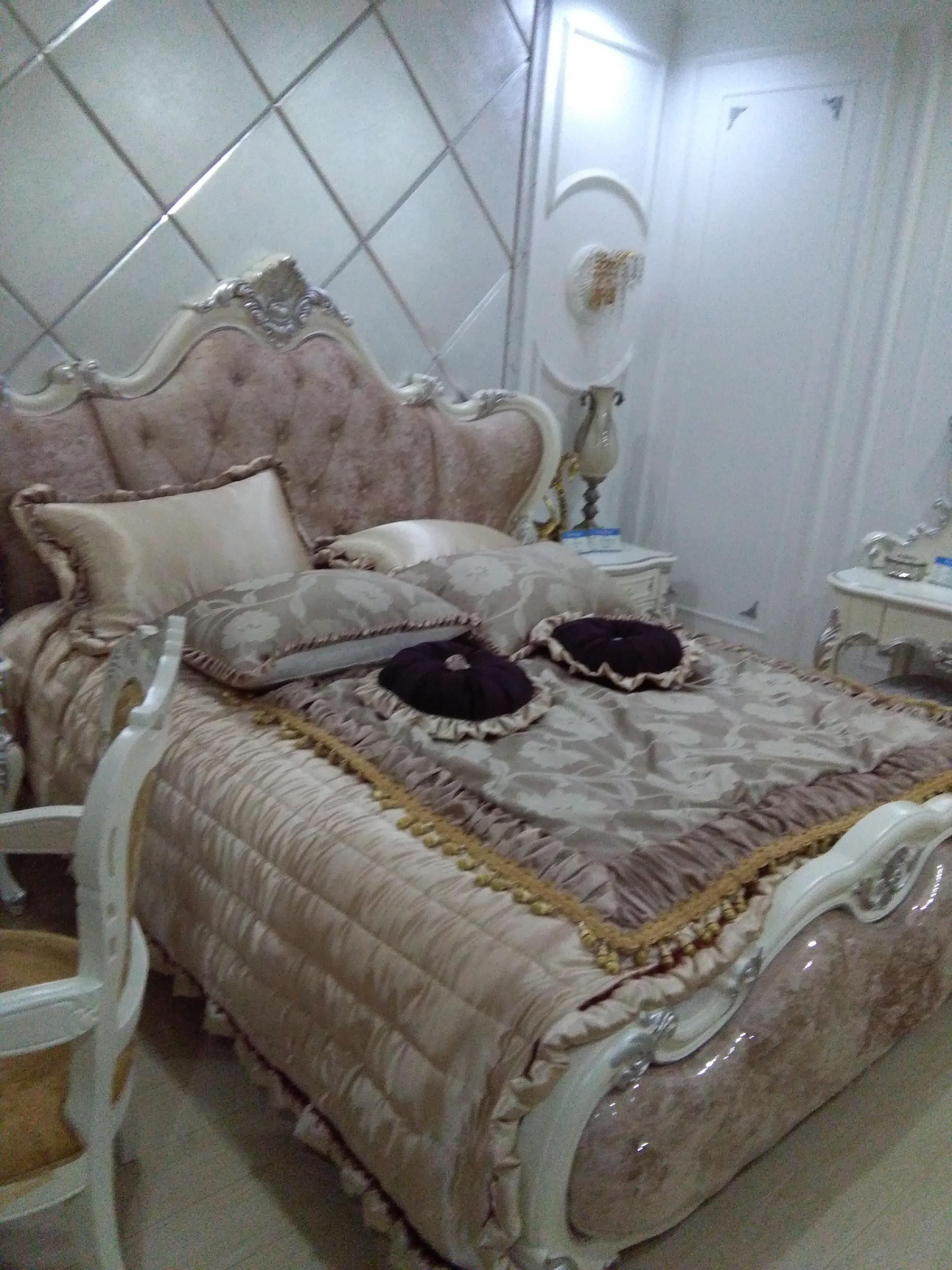 长沙博丰家居广场 欧式床 品牌欧式实木双人大床 英式床 韩式田园风婚
