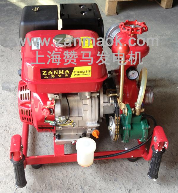供应上海赞马9马力发动机汽油消防水泵