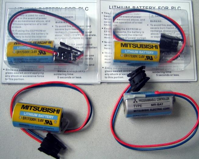 供应天津三菱伺服电机电池MR-BAT特价销售