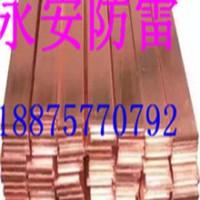 供应用于防雷的永安铜包钢接地扁线价格
