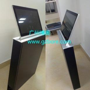 铝合金拉丝面板超薄液晶屏升降器图片