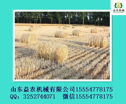 供应用于牛羊养殖的益农麦草粉碎打捆机
