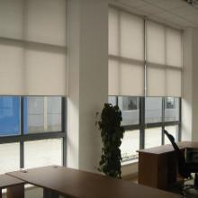 供应西安办公室窗帘加工厂,电动遮阳卷帘免费设计批发