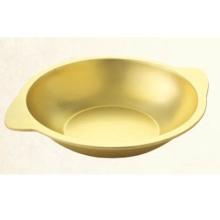 供应用于火锅店的黄铜大耳炒锅火锅干锅通用加厚铜锅电磁炉燃气炉通用铜锅