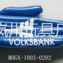 供应定制加油助威充气pvc手掌 pvc充气手掌广告促销礼品道具