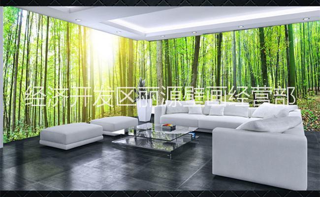 3d森林壁纸空间背景墙纸报价