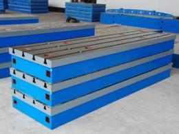 上海铸铁T型糟平台生产厂家定做 铸铁T型糟平台 装配平台